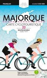 La couverture et les autres extraits de Majorque, carte cyclotouristique