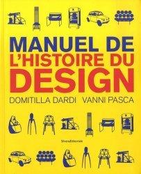 Dernières parutions sur Design - Mobilier, Manuel de l'histoire du design