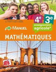 Souvent acheté avec Physique Chimie - 4e et 3e : Cahier d'exercices : enseignement agricole, le Mathématiques - 4e et 3e