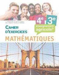 Souvent acheté avec Mathématiques 1re Bac Pro - Enseignement agricole (2018), le Mathématiques - 4e et 3e : Cahier d'exercices Enseignement agricole