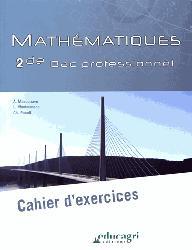 Souvent acheté avec Mathématiques 1re Bac Pro - Enseignement agricole (2018), le Mathématiques 2de Bac professionnel