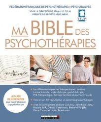 Dernières parutions sur Médecine, Ma bible des psychothérapies