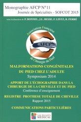 Malformations congénitales du pied chez l'adulte