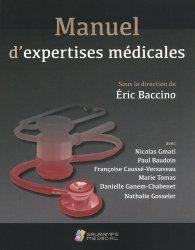 Dernières parutions sur Médecine, Manuel d'expertises médicales