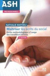 Dernières parutions sur Travail social, Maîtriser les écrits du social