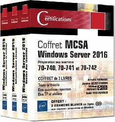 Dernières parutions sur PC - Windows, MCSA Windows Server 2016