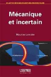 Dernières parutions sur Construction mécanique, Mécanique et incertain