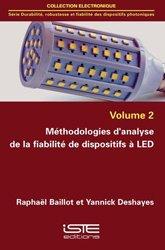 Dernières parutions sur Electricité, Méthodologies d'analyse de la fiabilité de dispositifs à LED