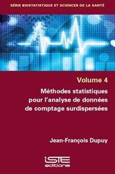 Dernières parutions sur Statistiques, Méthodes statistiques pour l'analyse de données de comptage surdispersées