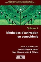 Dernières parutions sur Chimie, Méthodes d'activation en sonochimie