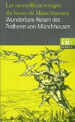 Dernières parutions sur Livres bilingues, Les merveilleux voyages du baron de Münchhausen/Wunderbare Reisen des Freiherrn von Münchhausen