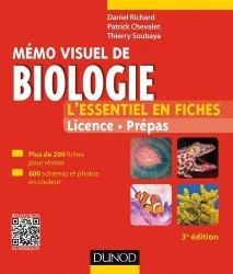 Souvent acheté avec Mémo visuel de chimie organique, le Mémo visuel de biologie