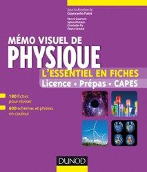 Dernières parutions sur Dictionnaires et cours fondamentaux, Mémo visuel de physique