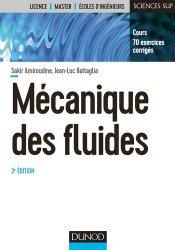 Dernières parutions sur Mécanique des fluides, Mécanique des fluides