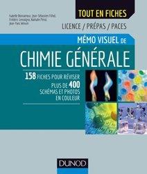 Souvent acheté avec Histologie générale, le Mémo visuel de chimie générale