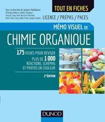 Dernières parutions sur Chimie organique, Mémo visuel de chimie organique