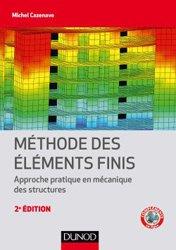 Dernières parutions sur Maths pour l'ingénieur, Méthode des éléments finis