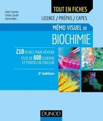 Dernières parutions sur Chimie générale, Mémo visuel de biochimie chimie organique, chimie générale, biochimie,