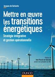 Dernières parutions sur Energies, Mettre en oeuvre les transitions énergétiques