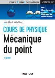Dernières parutions sur Mécanique des solides, Mécanique du point