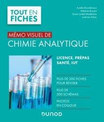 Souvent acheté avec Physique - 1350 cm3 d'exercices corrigés pour la Licence 1, le Mémo visuel de chimie analytique