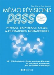 Dernières parutions sur PACES - PASS - LAS - MMOP, Mémo Révision PASS