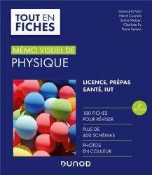 Dernières parutions dans Tout en fiches, Mémo visuel de physique - 2e éd.