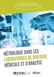 Dernières parutions sur Paramédical, Métrologie dans les laboratoires de biologie médicale et d'analyse