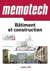 Dernières parutions dans Mémotech, Memotech Bâtiment et construction 2015