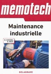Dernières parutions dans Mémotech, Mémotech maintenance industrielle