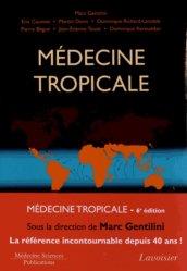 Dernières parutions sur Médecine tropicale, Médecine tropicale