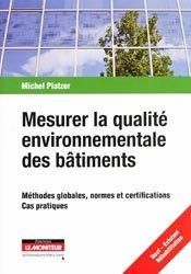 Souvent acheté avec L'éco-conception dans le bâtiment, le Mesurer la qualité environnementale des bâtiments
