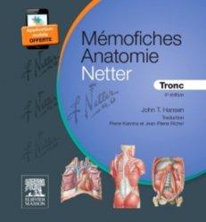 Souvent acheté avec Anatomie QCM corrigés, le Mémofiches Anatomie Netter - Tronc