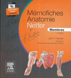 Souvent acheté avec Anatomie de l'appareil locomoteur Pack 4 volumes, le Mémofiches Anatomie Netter - Membres