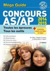 Souvent acheté avec Cahier d'entraînement aux épreuves écrites des concours AS - AP, le Méga guide Concours AS/AP