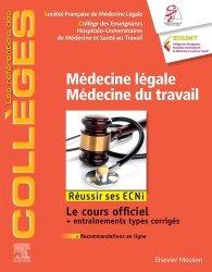 Souvent acheté avec UE ECN en fiches Santé publique, le Médecine légale, médecine du travail