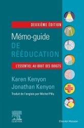 Dernières parutions sur Paramédical, Mémo-guide de rééducation