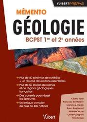 Dernières parutions sur Etudes vétérinaires, Mémento géologie BCPST 1re et 2e années