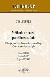 Dernières parutions sur Construction mécanique, Méthode de calcul par éléments finis