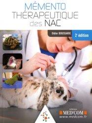 Souvent acheté avec La naturopathie pour mon chat et mon chien, le Mémento thérapeutique des NAC