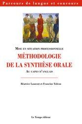 Souvent acheté avec La didactique au CAPES d'anglais, le Méthodologie de la synthèse orale au CAPES d'anglais