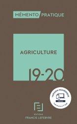 Dernières parutions sur Droit rural, Mémento Agriculture 2019-2020