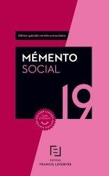 Dernières parutions dans Mémento pratique, Mémento social. Edition limitée