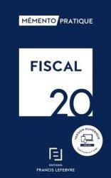 Dernières parutions sur Droit fiscal, Mémento fiscal. Edition 2020