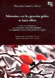 Dernières parutions dans Météos, Mémoires sur les grandes gelées et leurs effets