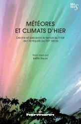 Dernières parutions dans Météos, Météores et climats d'hier