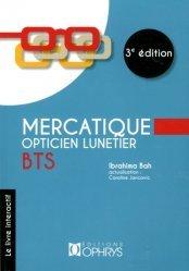 Dernières parutions sur Opticien, Mercatique, opticien lunetier BTS