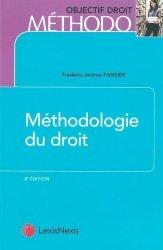 Dernières parutions sur Méthodes de travail, Méthodologie du droit. 8e édition