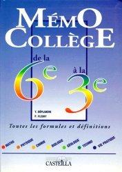 Souvent acheté avec Dictionnaire LSF     1200 signes, le Mémo Collège de la 6ème à la 3ème