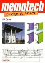 Souvent acheté avec Construction de maisons à ossature bois, le Mémotech Enveloppe du bâtiment